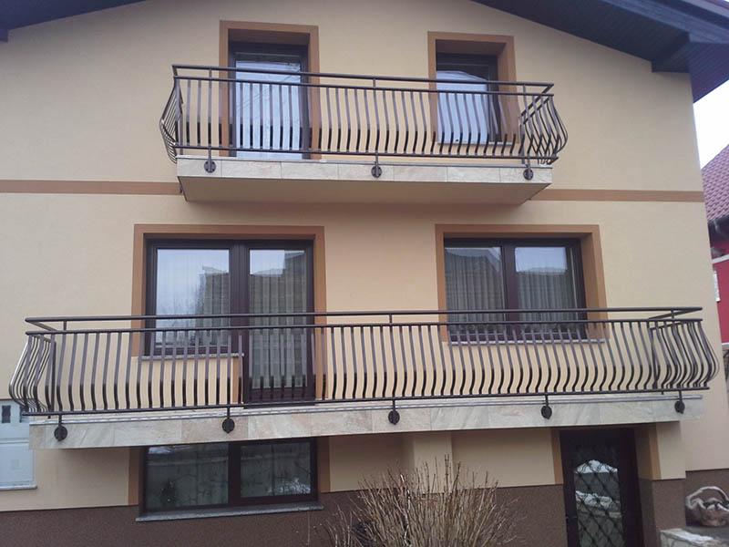 Balkonske inox ograje