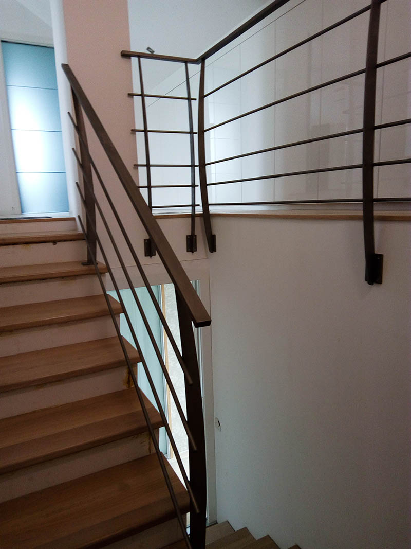 Inox stopniščne ograje