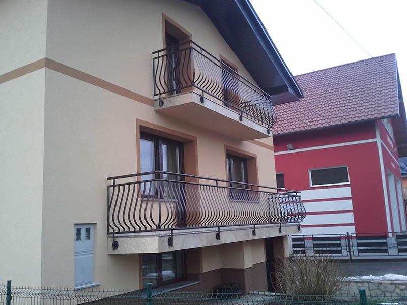 Kovinska balkonska ograja