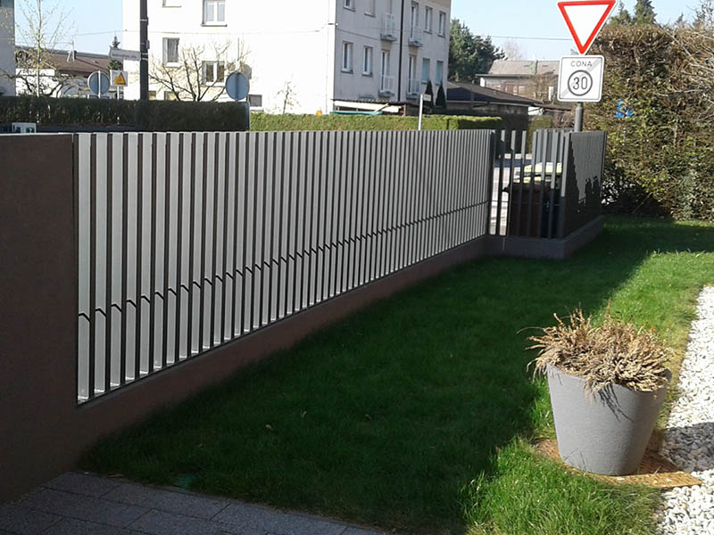 Vrtne kovinske ograje