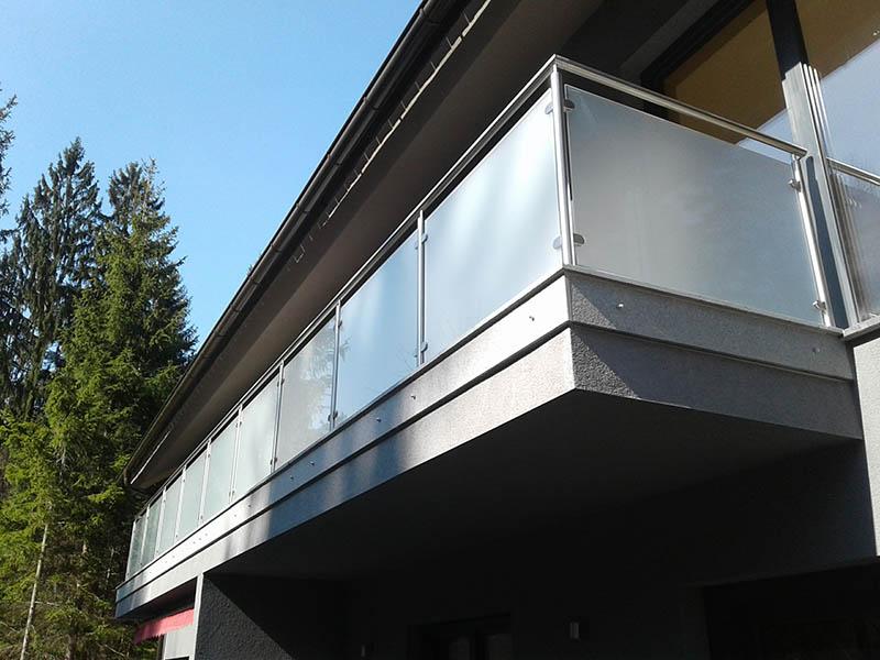 Moderne balkonske ograje, balkonske ograje inox cena